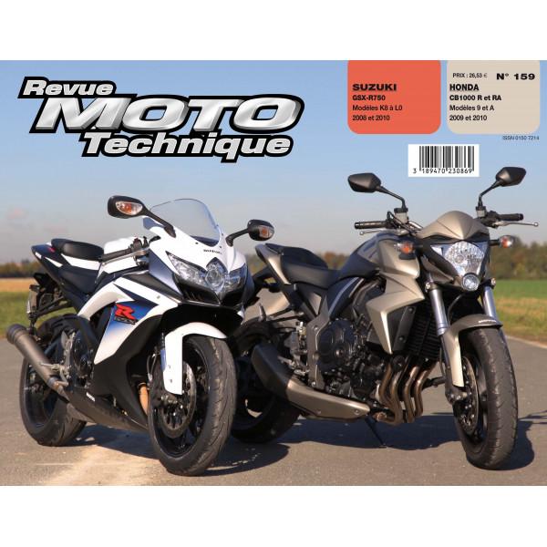 Revue Technique Rmt Honda cb 1000r et Suzuki gsx r 750