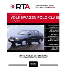 E-RTA Volkswagen Polo classic/flight III BERLINE 4 portes de 03/1996 à 12/2001