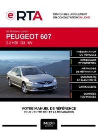 E-RTA Peugeot 607 BERLINE 4 portes de 09/2004 à 12/2010