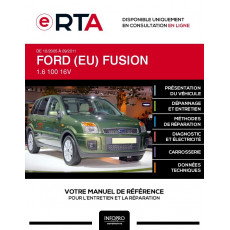 E-RTA Ford (eu) Fusion HAYON 5 portes de 10/2005 à 09/2011