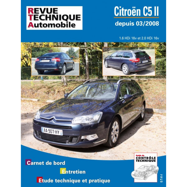 Revue Technique Citroen c5 2