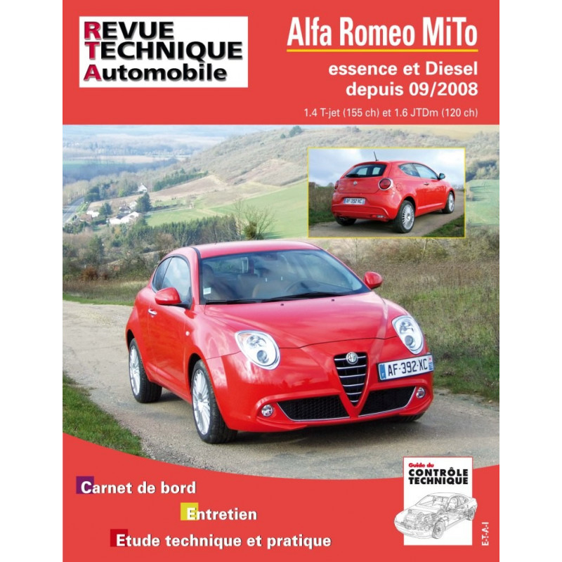 Revue Technique Alfa Romeo Mi.To (RTA)