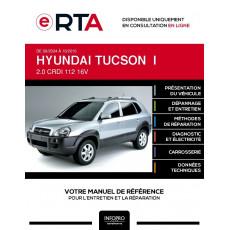 E-RTA Hyundai Tucson I BREAK 5 portes de 09/2004 à 10/2010