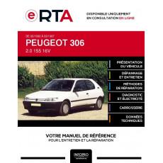 E-RTA Peugeot 306 HAYON 3 portes de 02/1993 à 03/1997