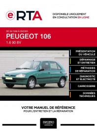 E-RTA Peugeot 106 HAYON 5 portes de 04/1996 à 09/2003