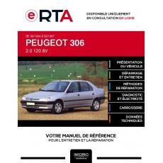 E-RTA Peugeot 306 BERLINE 4 portes de 09/1994 à 03/1997