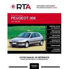 E-RTA Peugeot 306 HAYON 5 portes de 02/1993 à 03/1997