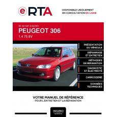 E-RTA Peugeot 306 HAYON 3 portes de 04/1997 à 06/2001