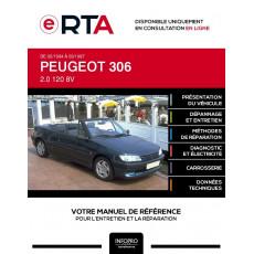 E-RTA Peugeot 306 CABRIOLET 2 portes de 02/1994 à 03/1997