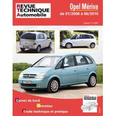 RTA B743.5 OPEL MERIVA I (A) PHASE 2 (2006 à 2010)