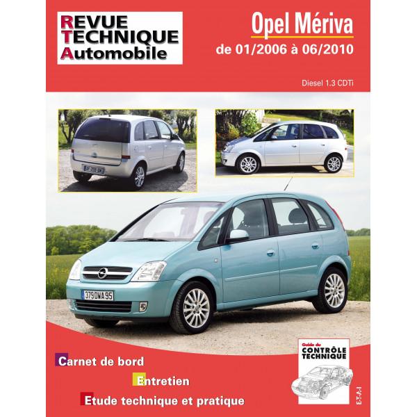 Revue Technique Opel meriva 2
