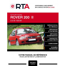 E-RTA Rover 200 II HAYON 5 portes de 05/1996 à 04/2000