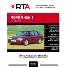 E-RTA Rover 400 I BERLINE 4 portes de 01/1994 à 09/1995