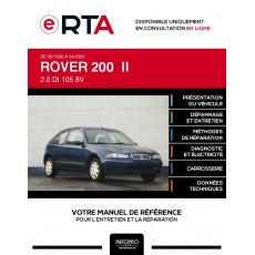 E-RTA Rover 200 II HAYON 3 portes de 05/1996 à 04/2000