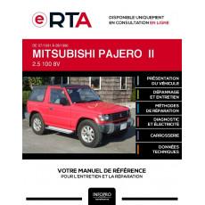 E-RTA Mitsubishi Pajero II CABRIOLET 2 portes de 07/1991 à 08/1996