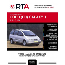 E-RTA Ford (eu) Galaxy I MONOSPACE 5 portes de 11/1995 à 08/2000