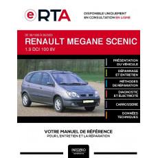 E-RTA Renault Megane scenic I MONOSPACE 5 portes de 08/1999 à 06/2003