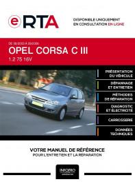 E-RTA Opel Corsa III HAYON 5 portes de 08/2003 à 09/2006