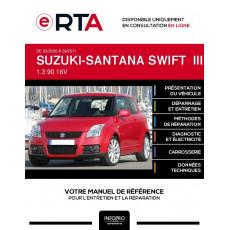 E-RTA Suzuki-santana Swift III HAYON 3 portes de 03/2005 à 09/2011