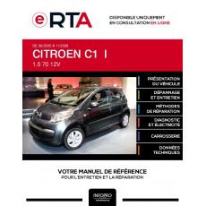 E-RTA Citroen C1 I HAYON 5 portes de 06/2005 à 11/2008