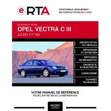 E-RTA Opel Vectra III BERLINE 4 portes de 06/2002 à 10/2005
