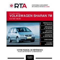 E-RTA Volkswagen Sharan I MONOSPACE 5 portes de 01/2004 à 09/2010