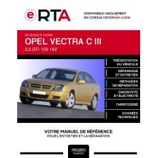 E-RTA Opel Vectra III HAYON 5 portes de 09/2002 à 10/2005