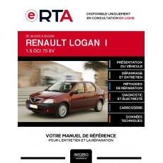 E-RTA Renault Logan I BERLINE 4 portes de 06/2005 à 06/2008