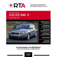 E-RTA Volvo S40 II BERLINE 4 portes de 01/2004 à 06/2007