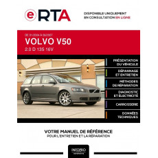 E-RTA Volvo V50 BREAK 5 portes de 01/2004 à 06/2007