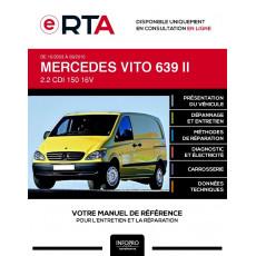 E-RTA Mercedes Vito II FOURGON 5 portes de 10/2003 à 09/2010