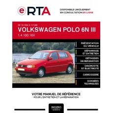 E-RTA Volkswagen Polo III HAYON 5 portes de 10/1994 à 11/1999