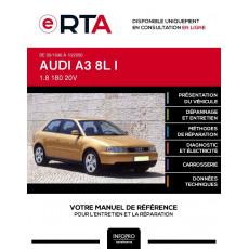 E-RTA Audi A3 I HAYON 3 portes de 09/1996 à 10/2000