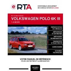 E-RTA Volkswagen Polo III BREAK 5 portes de 12/1996 à 08/2001