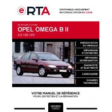 E-RTA Opel Omega II BERLINE 4 portes de 05/1994 à 12/1999