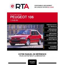 E-RTA Peugeot 106 HAYON 3 portes de 04/1996 à 09/2003