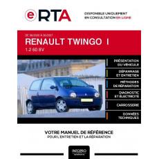 E-RTA Renault Twingo I HAYON 3 portes de 08/2000 à 06/2007