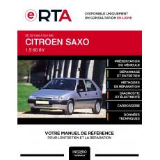 E-RTA Citroen Saxo HAYON 5 portes de 03/1996 à 09/1999
