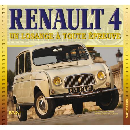 Renault 4, un losange a toute épreuve