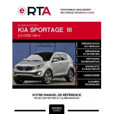 E-RTA Kia Sportage III BREAK 5 portes de 09/2010 à 07/2014