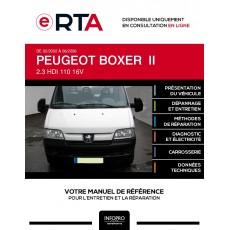 E-RTA Peugeot Boxer II PLATEAU 2 portes de 02/2002 à 06/2006