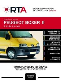 E-RTA Peugeot Boxer II FOURGON 4 portes de 02/2002 à 10/2005