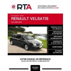 E-RTA Renault Velsatis HAYON 5 portes de 04/2005 à 12/2009