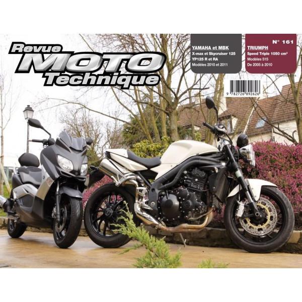 Revue Technique Rmt Yamaha yp125r xmax et mbk skycruiser 125 et Triumph