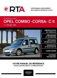 E-RTA Opel Combo -corsa- II BREAK 5 portes de 04/2002 à 07/2004