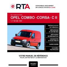 E-RTA Opel Combo -corsa- II FOURGON 3 portes de 01/2002 à 07/2004
