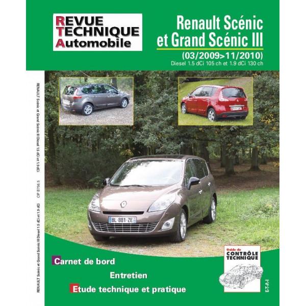 Revue Technique Renault scenic iii