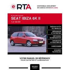 E-RTA Seat Ibiza II HAYON 3 portes de 09/1999 à 03/2002
