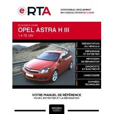 E-RTA Opel Astra III HAYON 3 portes de 02/2005 à 12/2006