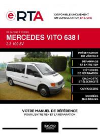 E-RTA Mercedes Vito I COMBI 4 portes de 04/1996 à 10/2003
